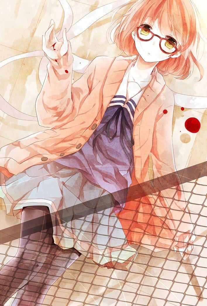 Kuriyama Mirai Kyoukai no Kanata Anime, Phong cảnh, Tượng