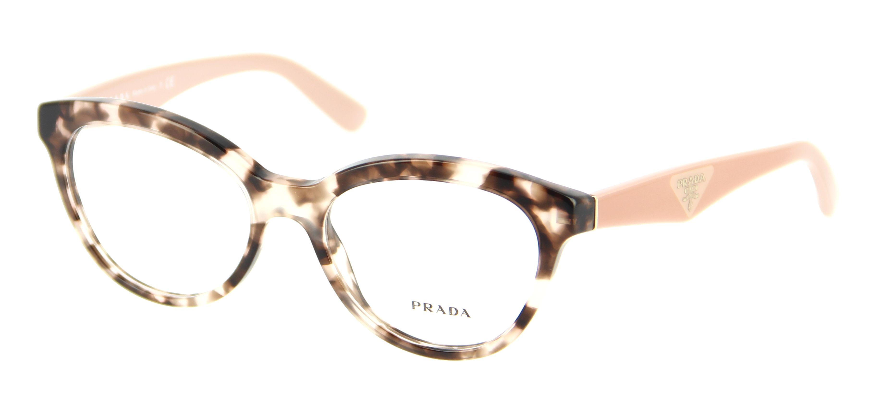 lunettes de vue pr 11rv roj101 50 17 prada spectacles. Black Bedroom Furniture Sets. Home Design Ideas