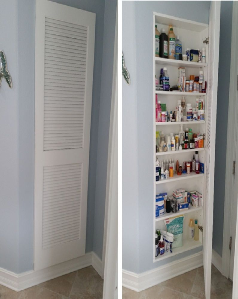 Full Size Medicine Cabinet Laundry Bathroom Bathroom