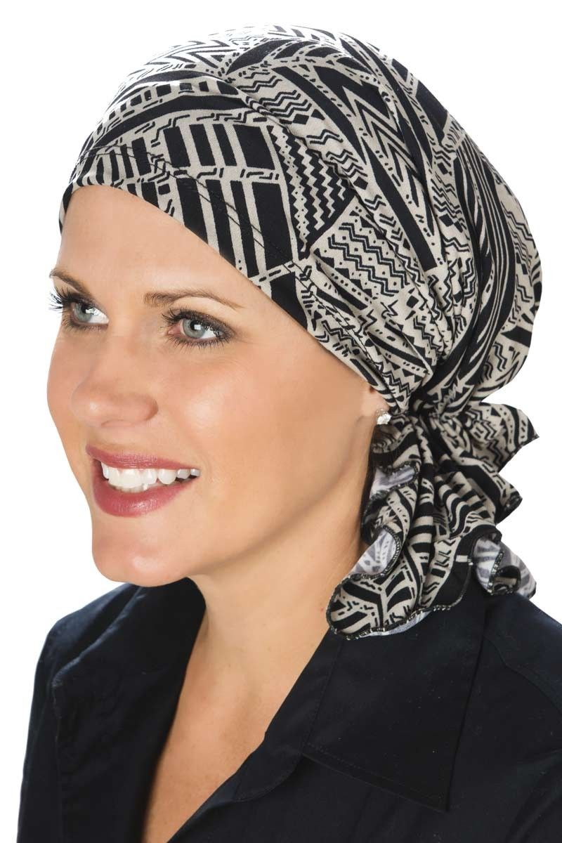 Slip On Pre-Tied Head Scarf  Scarves for Cancer Patients c6b6f3aa8405