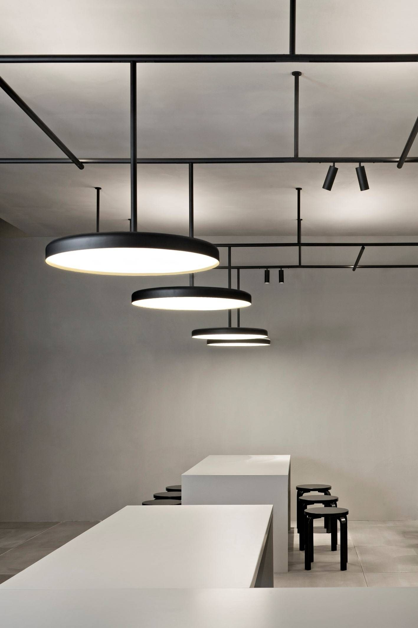 office lightings. Vincent Van Duysen\u0027s Infrastructure Lighting System For Flos Architectural On Display. Stand X VVD | Minimalissimo Office Lightings