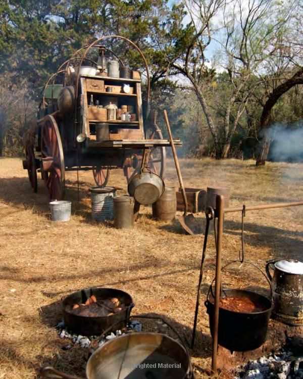 Cowboy Kitchen: Cooking The Cowboy Way: Recipes Inspired By Campfires