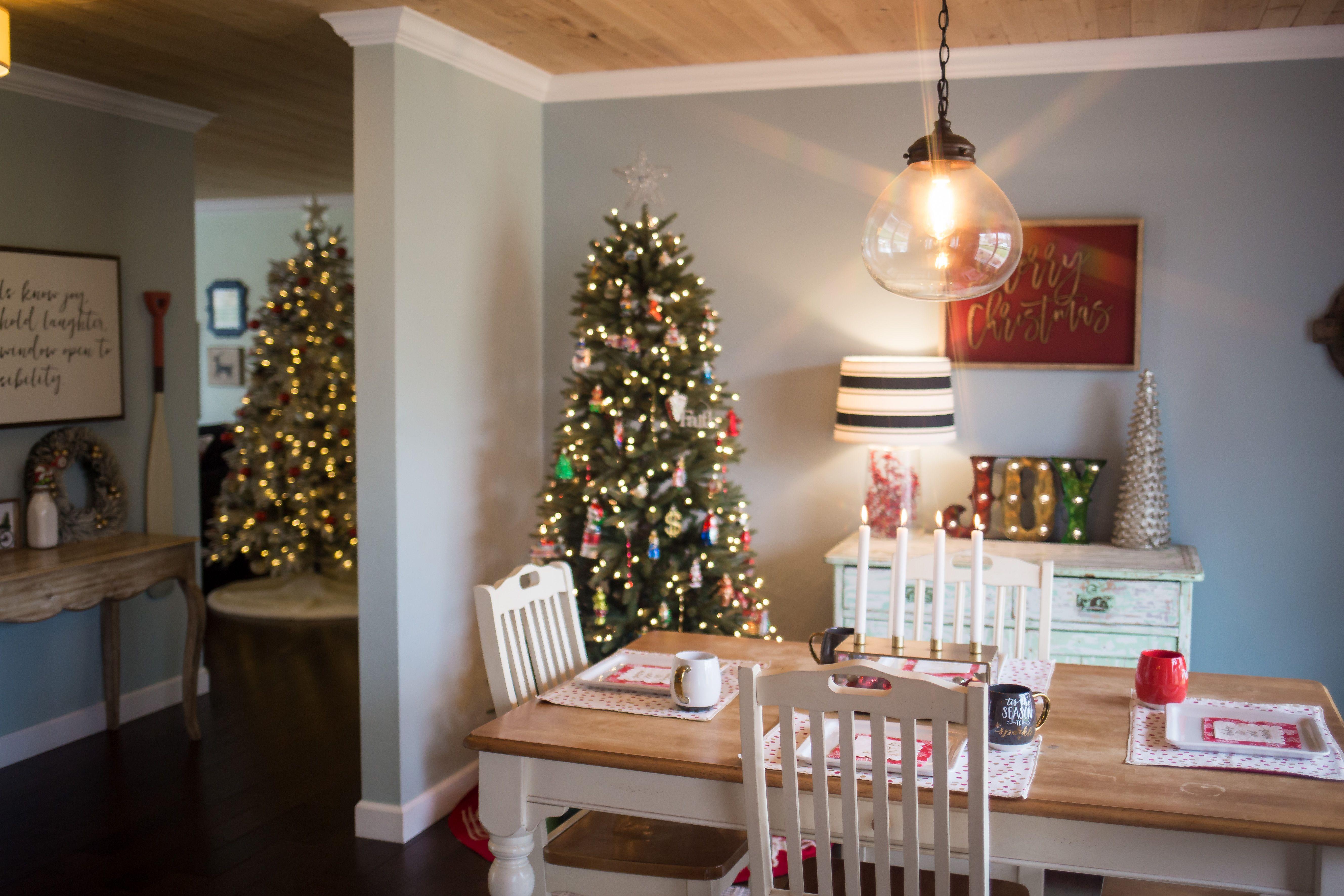 House Christmas Home Tour 2017