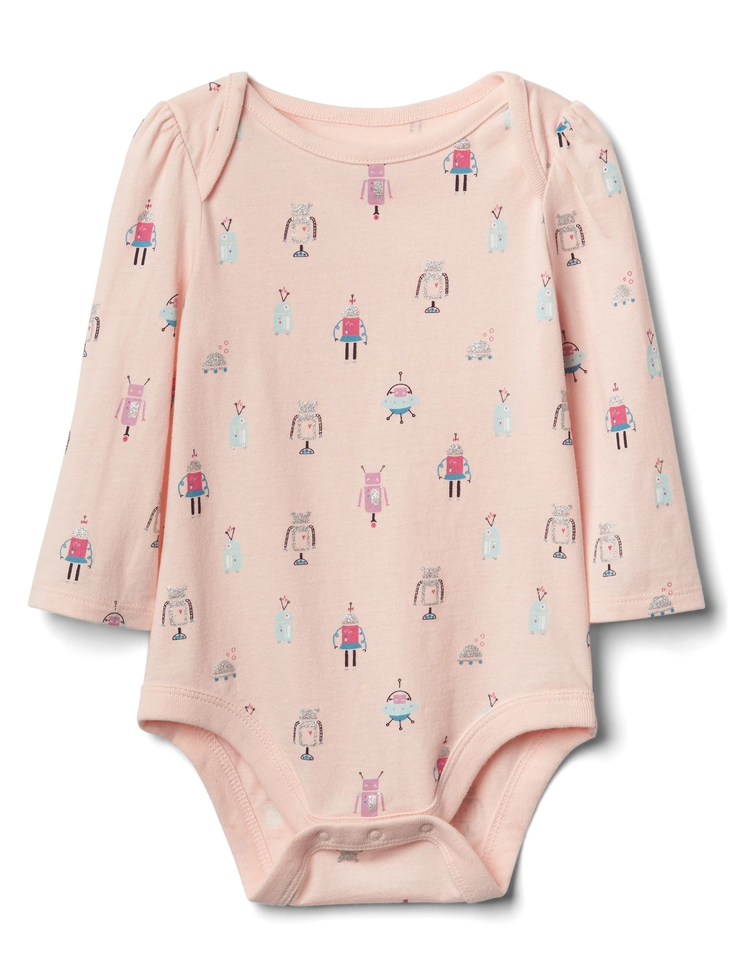 Print long sleeve bodysuit Gap Wyatt Everly LaVon