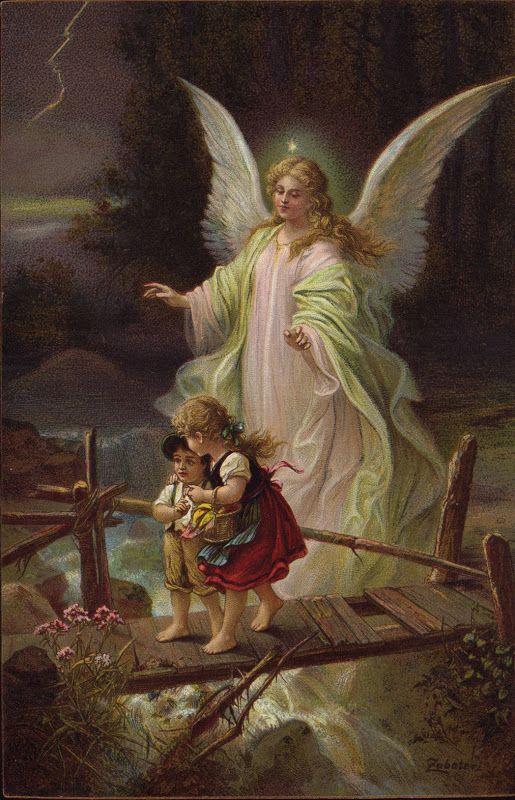 Guardian Angels Santo Anjo Da Guarda Anjos E Fadas Anjos