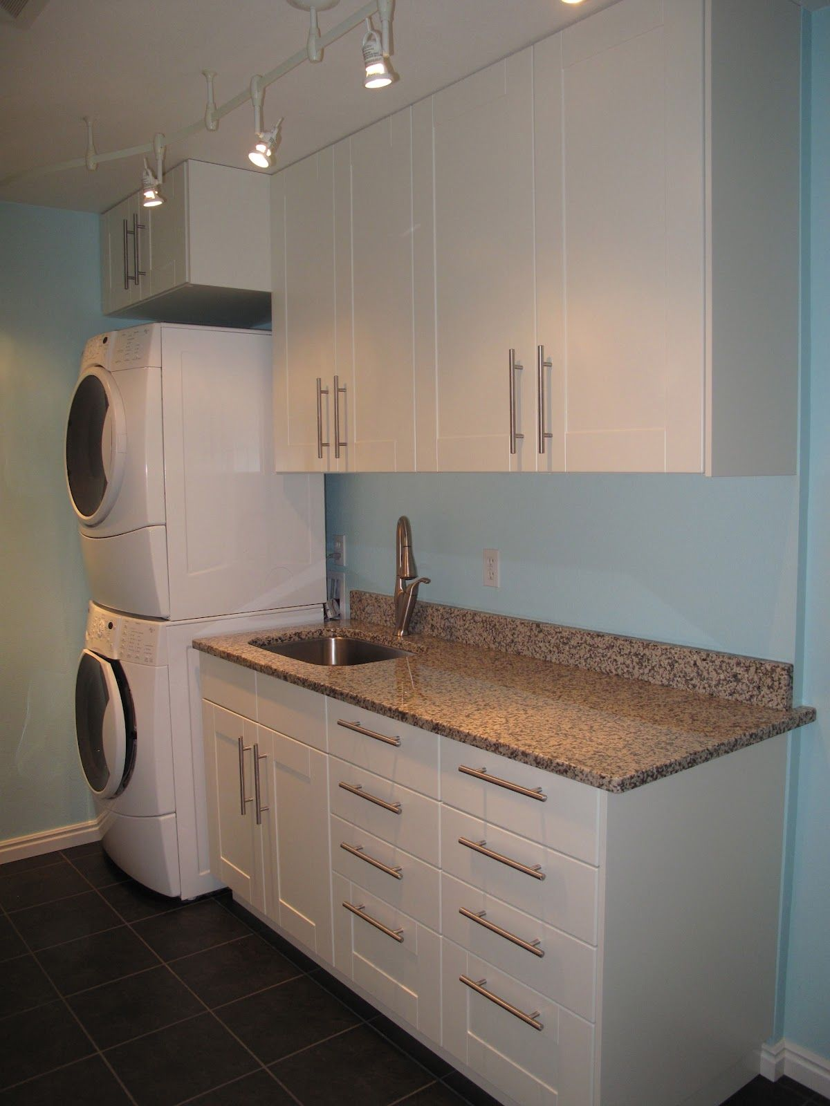 Painting of Laundry Room Cabinets IKEA Storage Ideas Pinterest