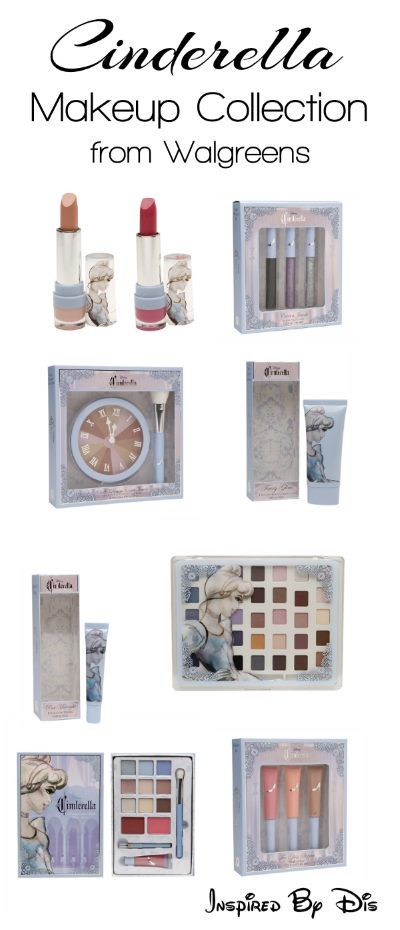 Online Exclusive Cinderella Makeup Collection from Walgreens ...