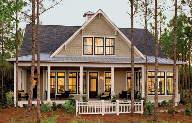 Awesome Southern Home Design Porch House Plans Southern House Plans Lake House Plans