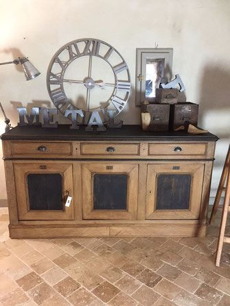 Tres belle enfilade louis philippe style industriel - Repeindre meuble louis philippe ...