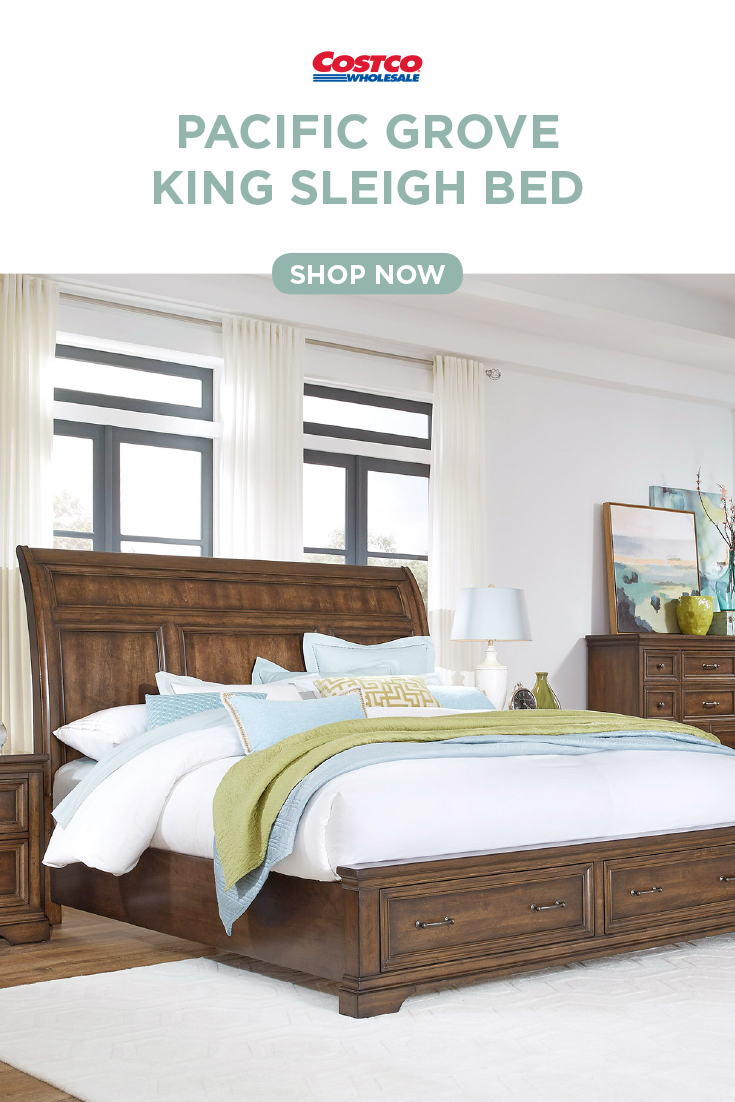 Pacific Grove King Sleigh Bed King Sleigh Bed Bedroom Furniture