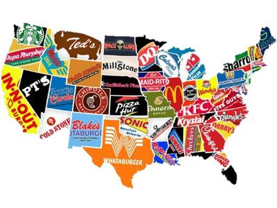 Food Brands in US Charting food Pinterest