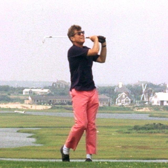 Jfk Golfing Hyannisport Cape Cod Massachusetts
