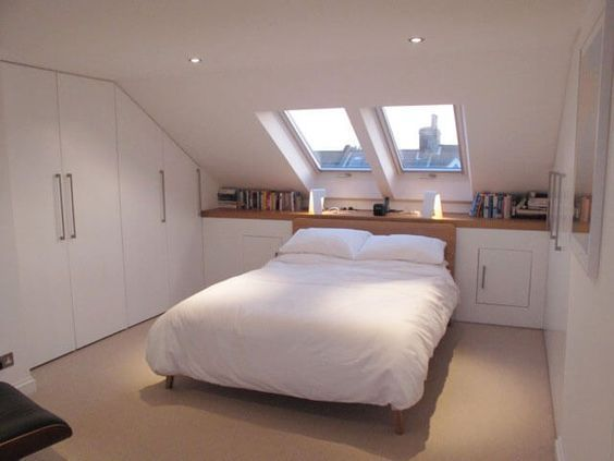 11+ Incredible Attic Rooms Modern Ideas #loftconversions