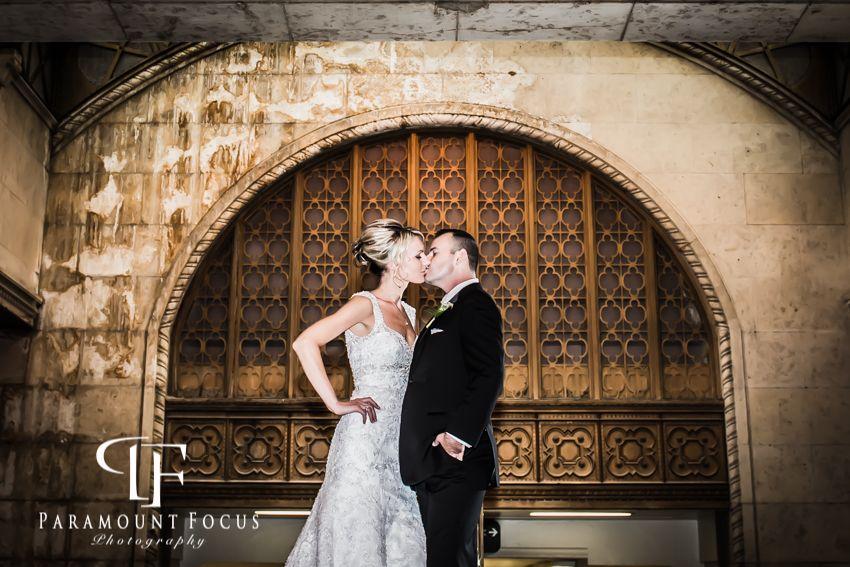 cool wedding shot ideas%0A Toronto Union Station wedding