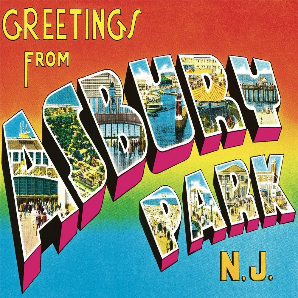 Bruce Springsteen Greetings From Asbury Park Nj Cd Products