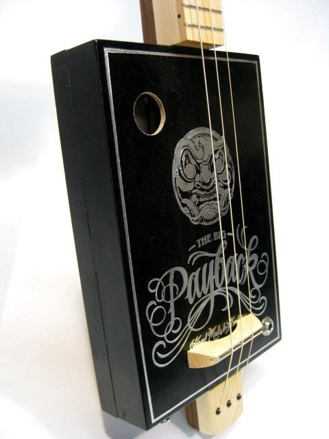 The Big Payback Cigar Box Guitar  1119 For Sale Snowden Guitars