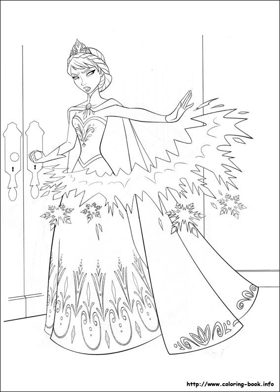 - Frozen Coloring Page … Disney Coloring Pages, Elsa Coloring Pages, Disney  Princess Coloring Pages