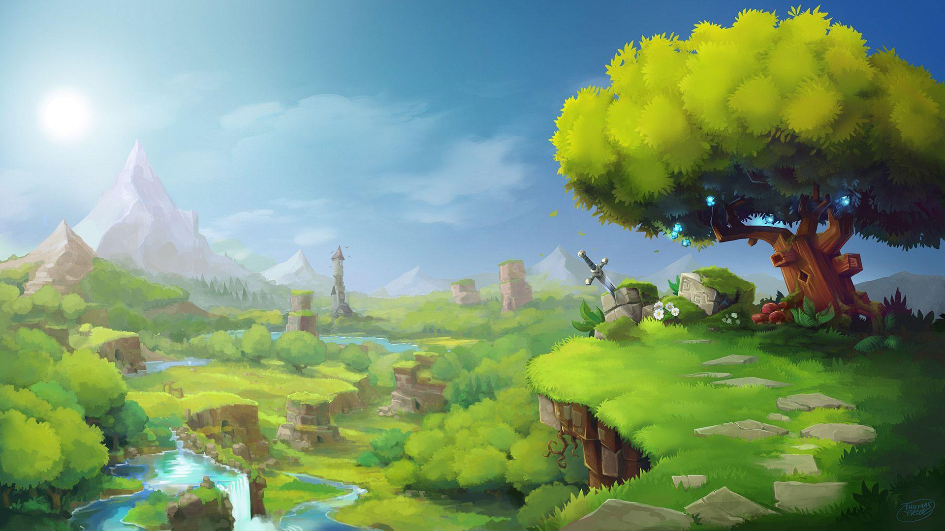 Wallpaper de Hytale réaliser par Hypixel Studio | Hytale