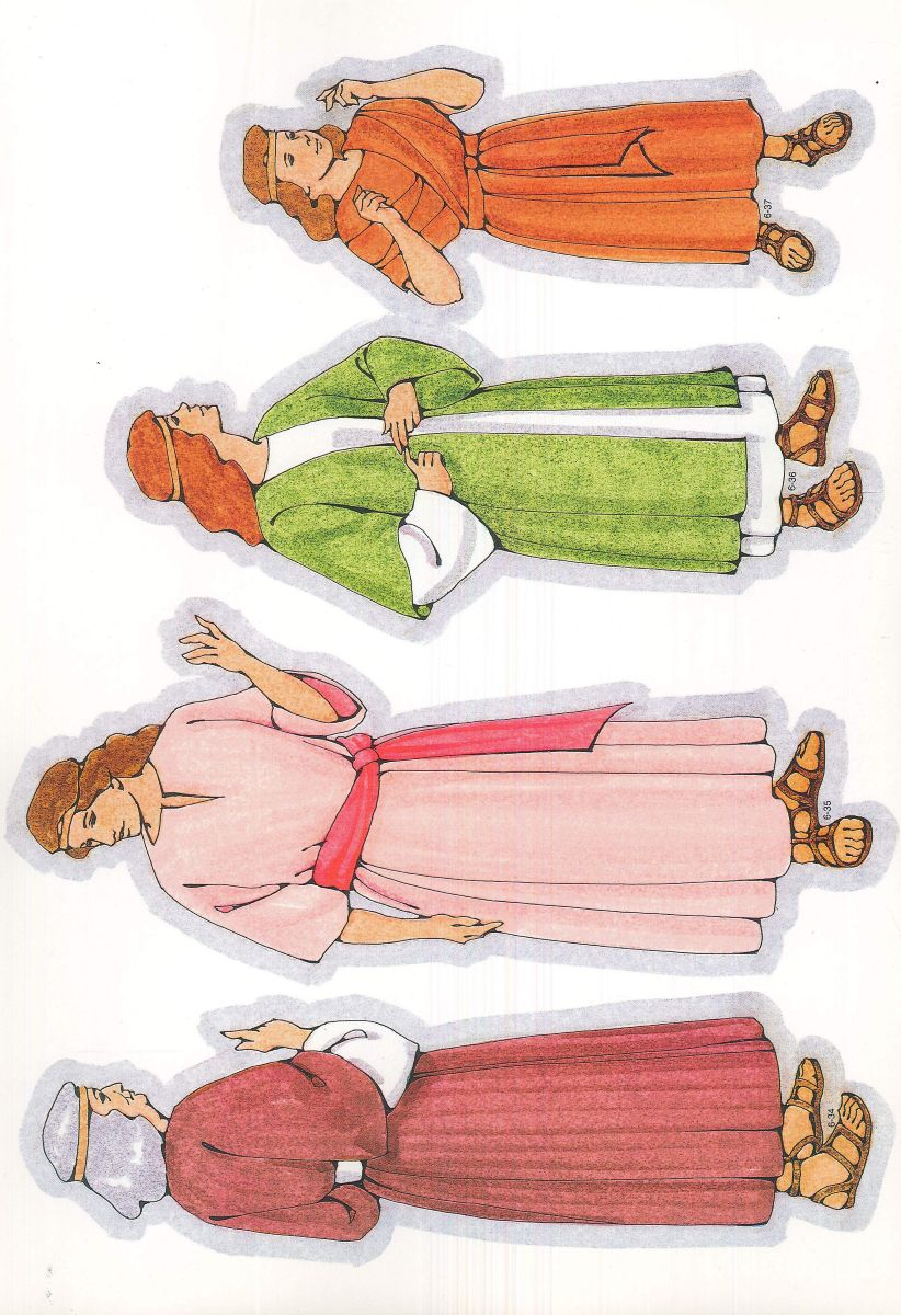 Primary Cutouts from lds.org. #ldsprimary | Bible: Teacher Supplies ...
