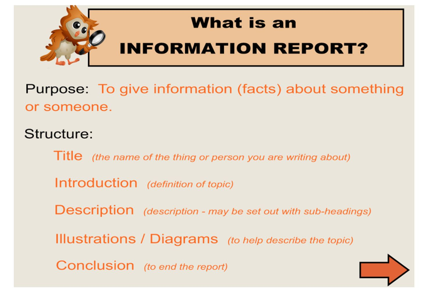 Teach Your Students How To Write An Information Report