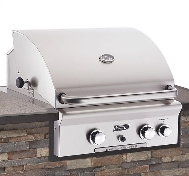"American Outdoor Grill 24NB Built In Stainless Steel 24"" Gas Grill 