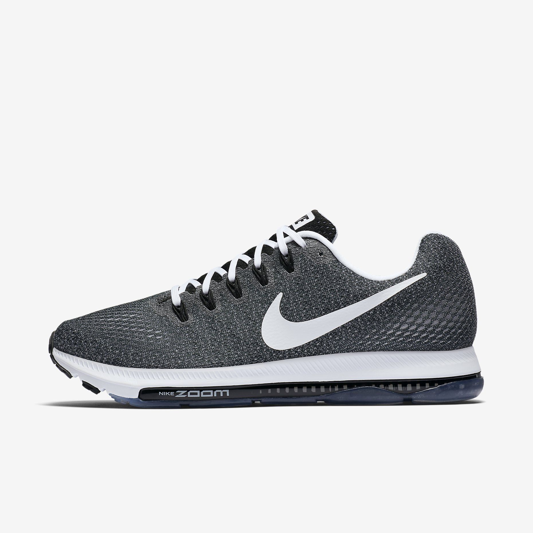 Running shoes for men, All black nikes