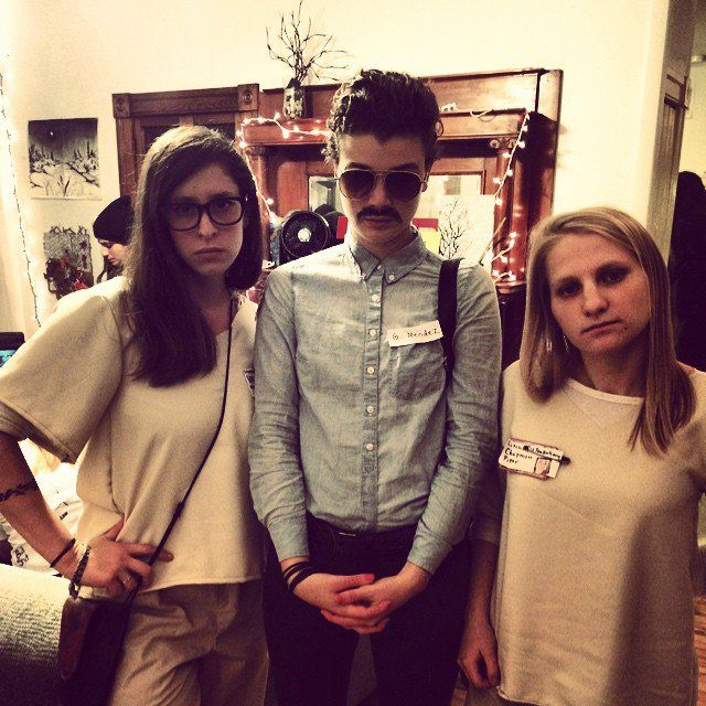 Pin for Later: Bad Girls: Take Your Girlfriends to Prison This Halloween