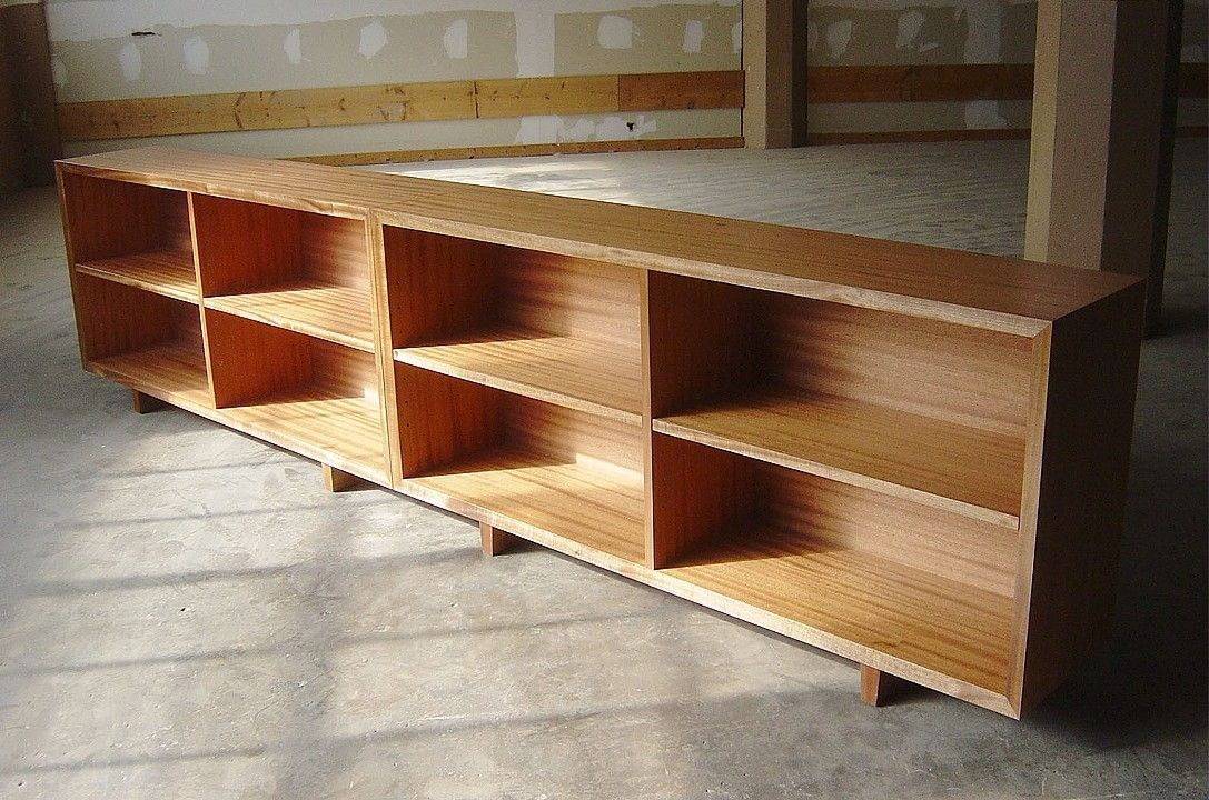 mahogany low bookshelves top of the stairs instead of railing rh pinterest com