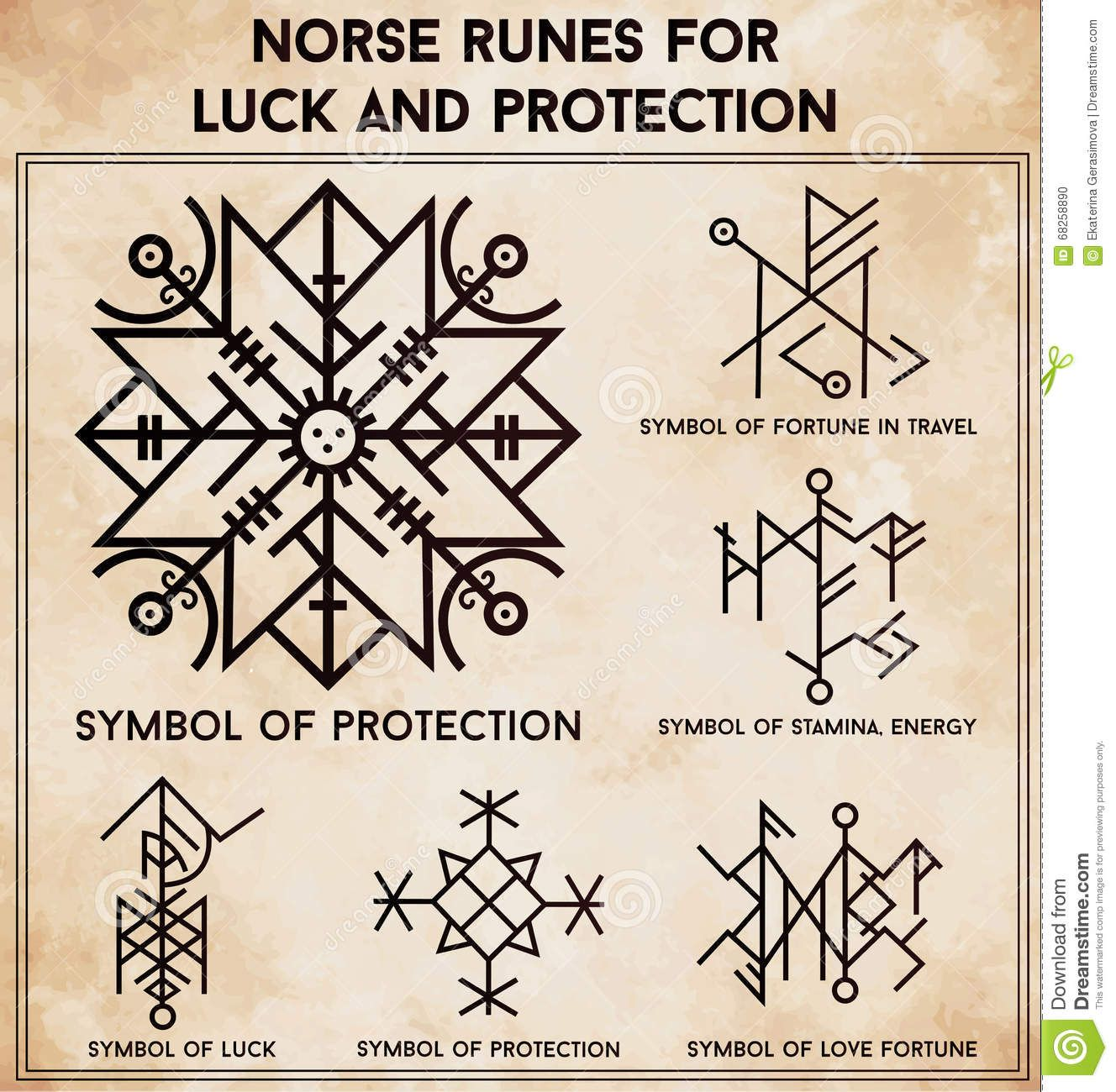 Futhark runes magic symbols vector set download from over 47 magic symbols used as scripted talismans for luck love and protection ethnic tattoo design for your use buy this stock vector on shutterstock find biocorpaavc