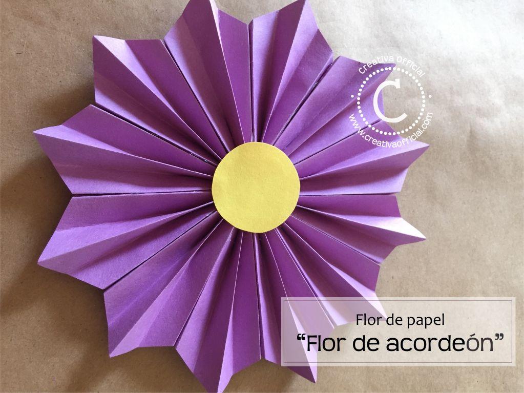 Aprende c mo hacer hermosas flores de papel estilo flor - Www como hacer flores com ...