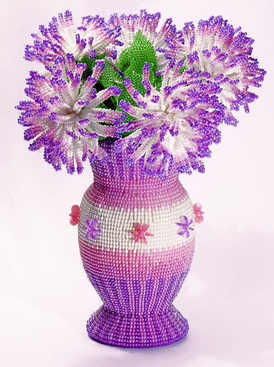 бисеры плетение картинка с цветами выбор угловых