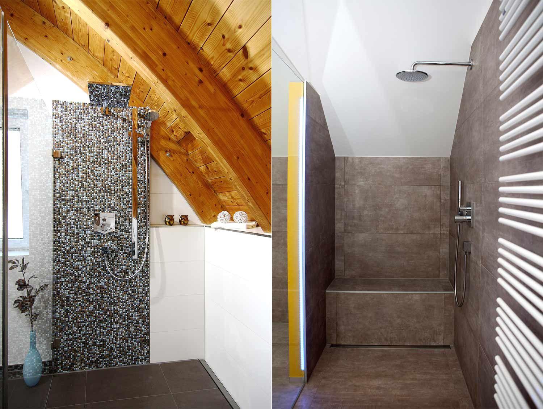 Duschkabine Unter Dachschrage Mit Fur Fotos Das Sieht Fabelhafte 5