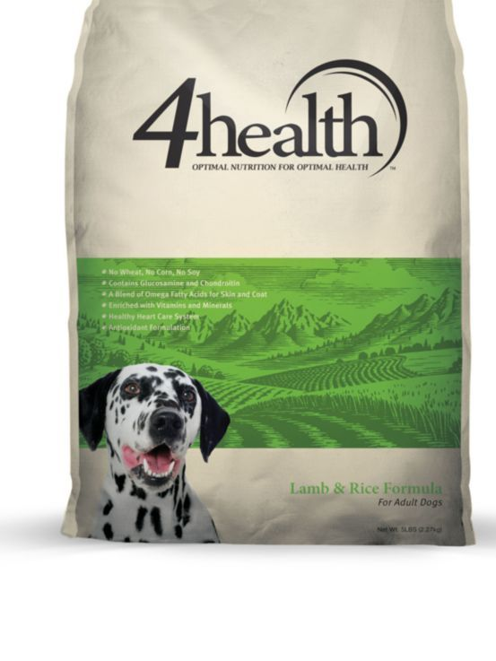 4health Lamb Rice Formula For Adult Dogs 5 Lb Bag Tractor