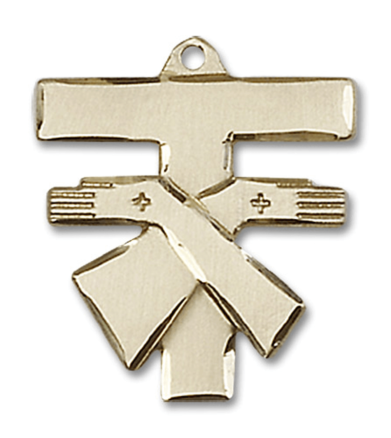 Franciscan 14k gold tau cross pendant4958xlg 800897 pixels tau gold filled franciscan tau cross pendant find out more about the great product at the image link mozeypictures Gallery