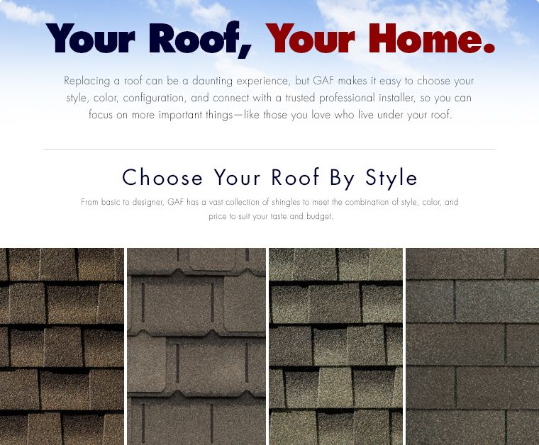 Gaf Roofing Shingles Styles Colors Roof Shingle Styles