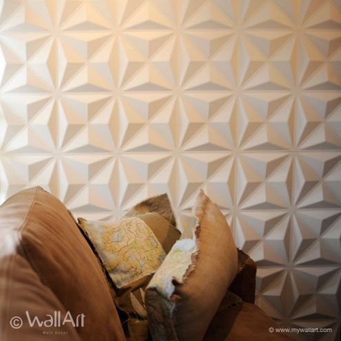 Paper Wall Tiles 3d-decorative-wall-papercullinans04 | co-working space | pinterest