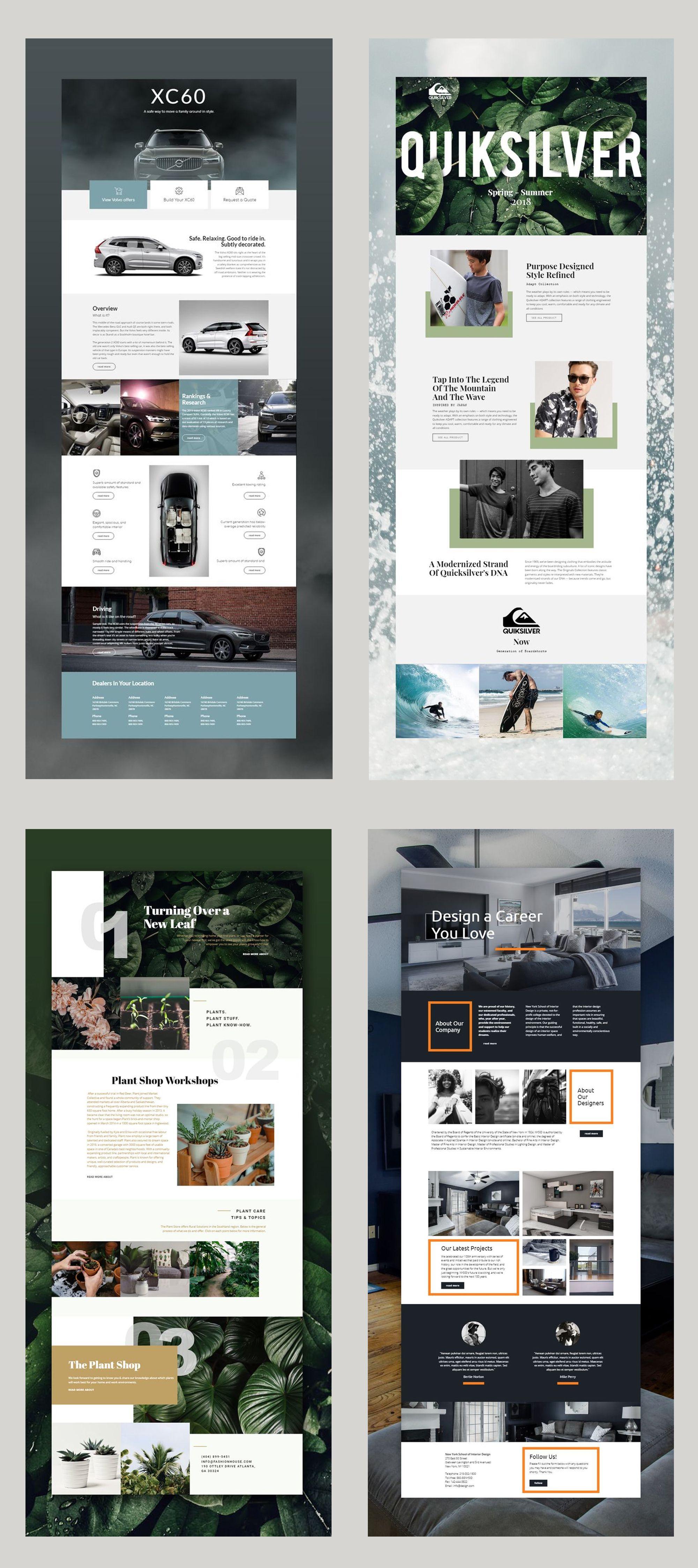 Free Templates By Nicepage Builder Diy Website Design Web Design Free Html Templates