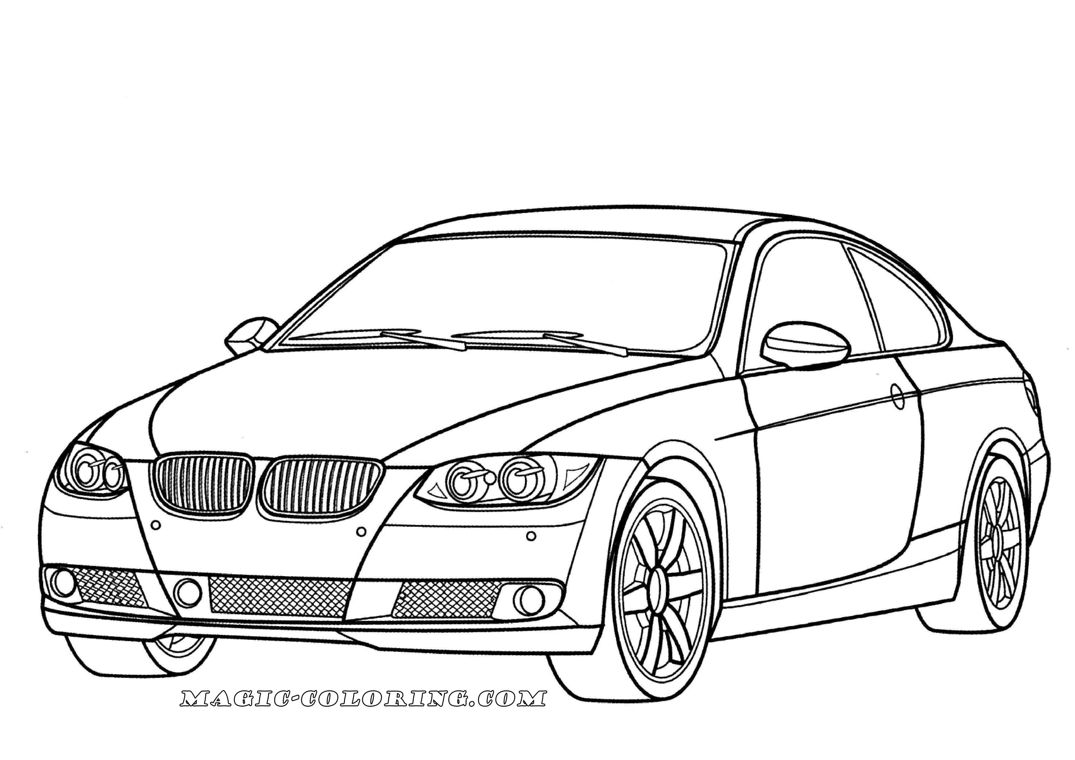 Bmw 3 Series Coloring Page Cars Coloring Pages Race Car Coloring Pages Car Colors