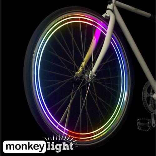 Wheel Lights Bicycle Bike Led Full Color Reflectors Headlights