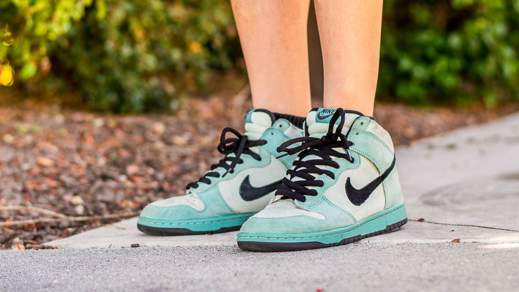 new concept 48564 67d77 ... See my on foot video review of these Nike Dunk SB High Sea Crystal +  where .