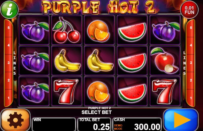 Purple Hot 2 Slot Machine