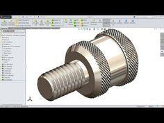 Solidworks Tutorial Sketch Sheet Metal Screw In Solidworks Youtube Solidworks Tutorial Solidworks Mechanical Design