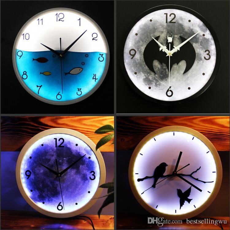 Creative Klassiker Led Wanduhren Fashion Clock Für Hauptdekor Freund  Geburtstags Weihnachtsgeschenke