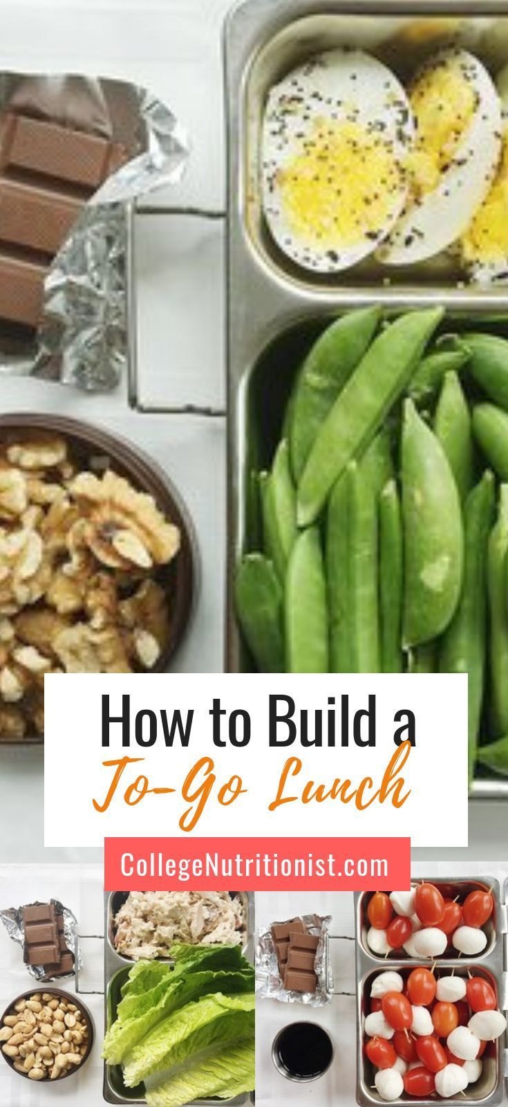 How to Build a FILLING To-Go Lunch in 5 Minutes