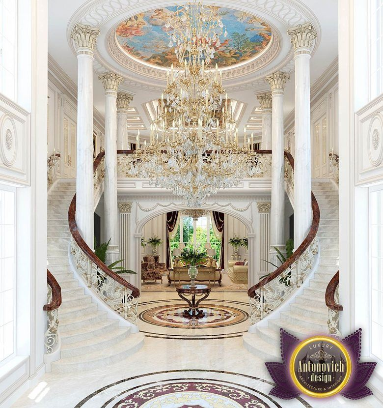 Katrina Antonovich Luxury Interior Design: The Interior Design In Classic Style By Katrina Antonovich