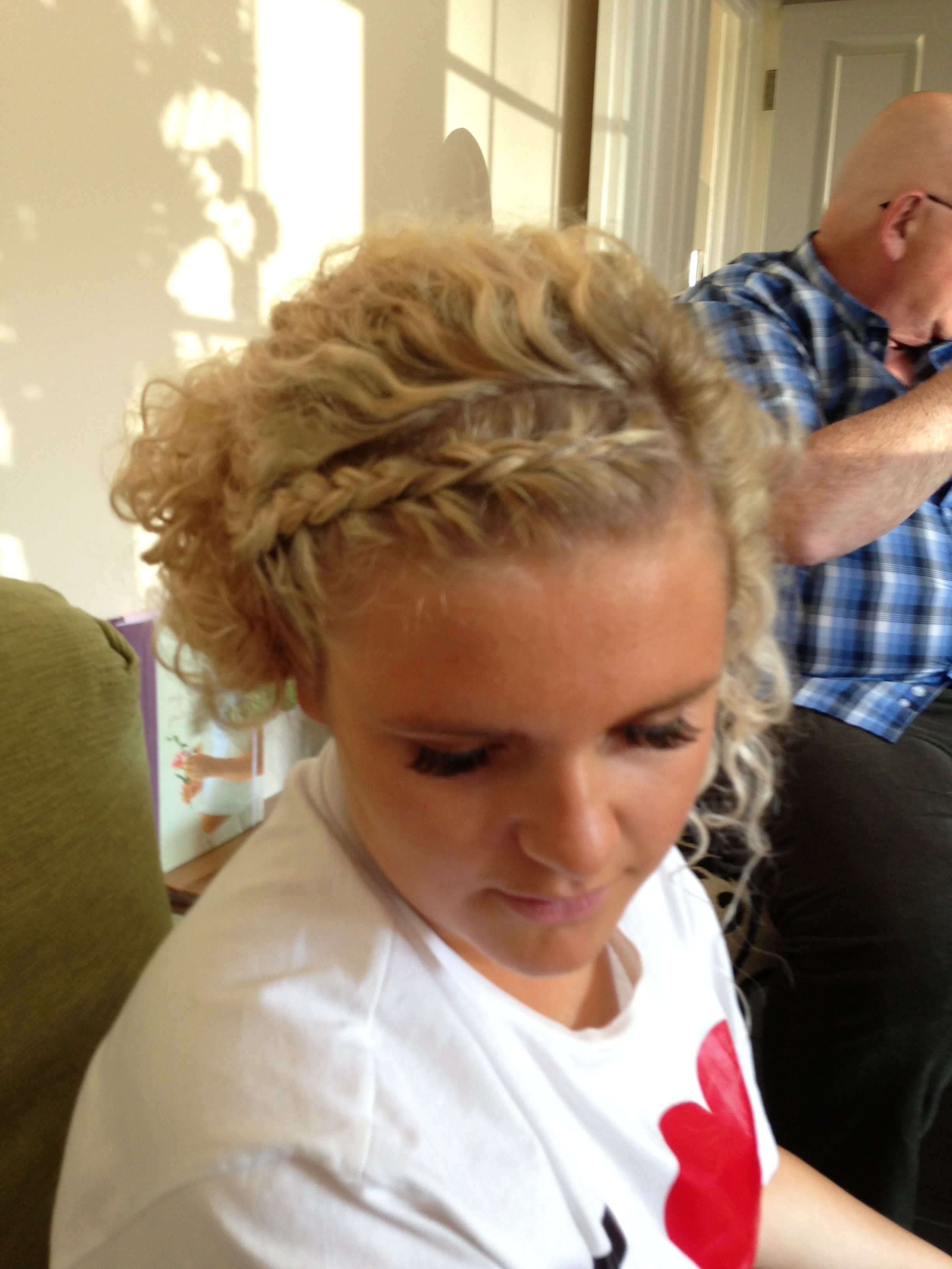Blonde curly prom hair prom pinterest curly prom hair prom