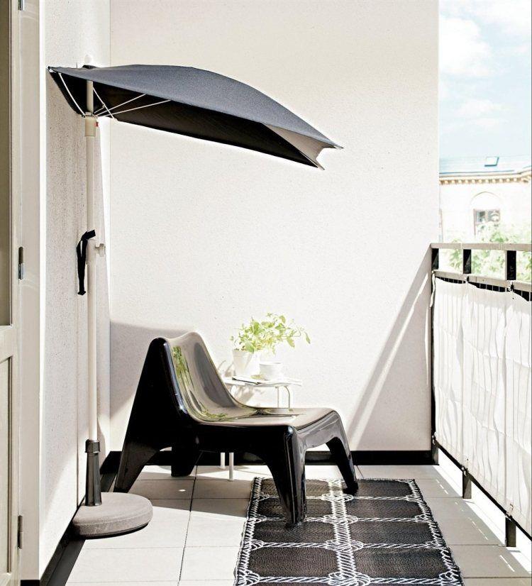 parasol de balcon brise vue et pare vent protection compl te balcon pinterest parasol. Black Bedroom Furniture Sets. Home Design Ideas