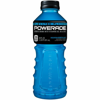 I M Learning All About Powerade Mountain Berry Blast Sports Drink At Influenster Sports Drink Energy Drinks Drinks