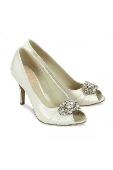 Chaussures Fin D'année Soirée Strass Satin Mariée De Fêtes qUVSMzp