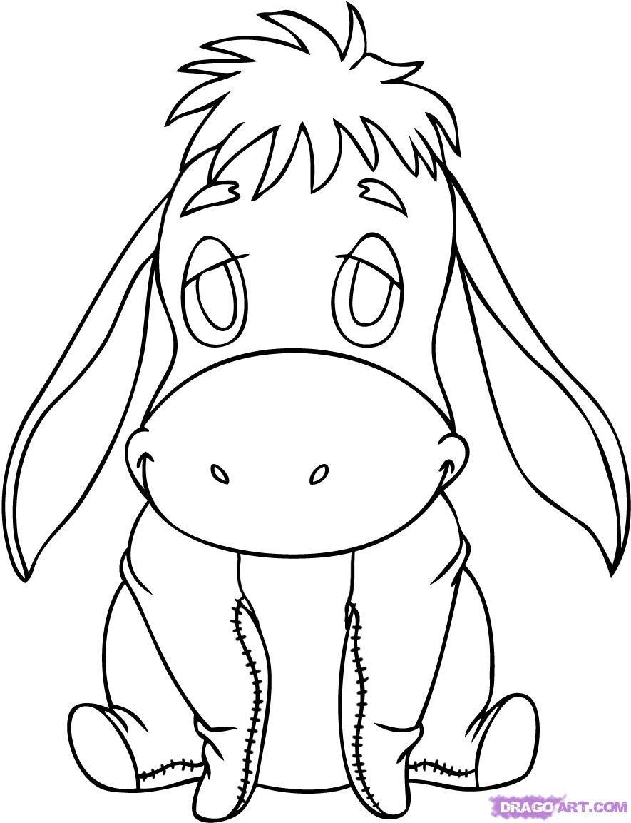 eeyore drawing - Google Search | art | Pinterest | Eeyore, Drawings ...